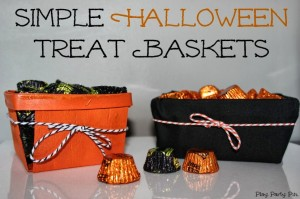 Halloween Treat Baskets