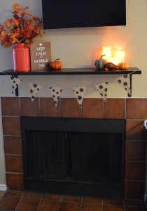 Thanksgiving Mantel | Craft Dictator