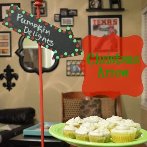 Christmas Arrow | Craft Dictator