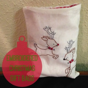 Embroider Christmas Bag | Craft Dictator
