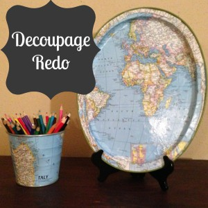 Decoupage Redo | Craft Dictator