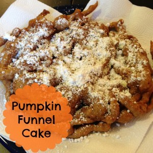 Pumpkin Funnel Cake | Craft Dictator