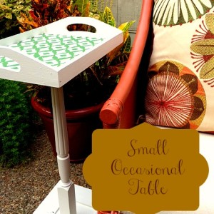 Small Occasional Table | Craft Dictator