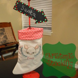 Christmas Stocking | Craft Dictator