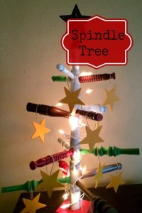 Spindle Christmas Tree | Craft Dictator