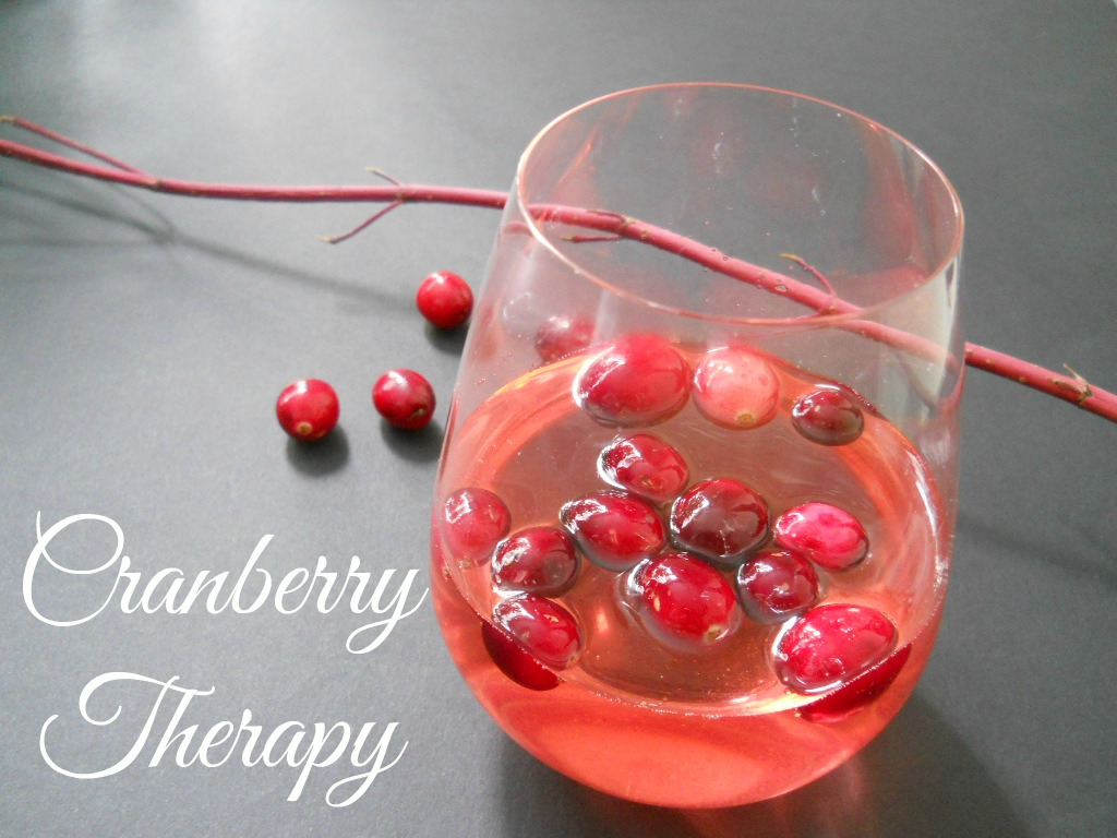 Cranberry Therapy | Honesty's Protegee
