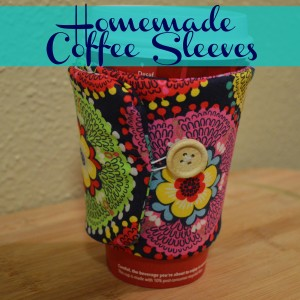Homemade Coffee Sleeve | Craft Dictator