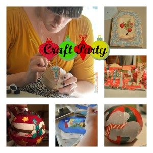 Family Craft Party | Craft Dictator