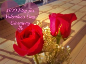 $100 Etsy for Valentine's Day Giveaway The Seaman Mom