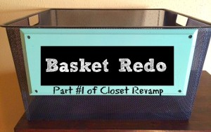 Basket Redo | Craft Dictator