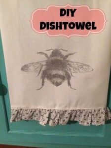 DIY Dishtowel | Craft Dictator