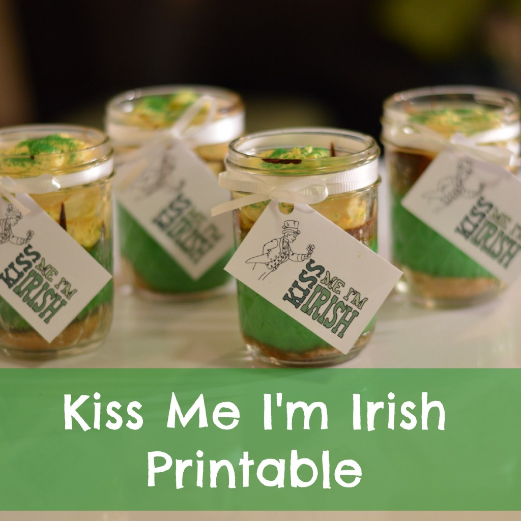 Kiss Me I'm Irish Printable | Craft Dictator