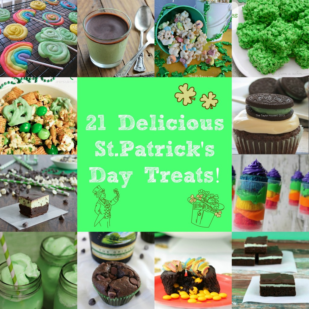 21 Delicious St.Patrick's Day Treats - Craft Dictator