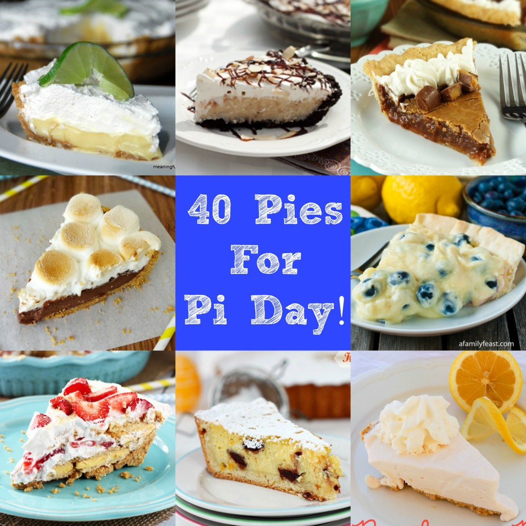 40 Pies for Pie Day | Craft Dictator