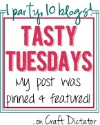 Tasty Tuesday Feature