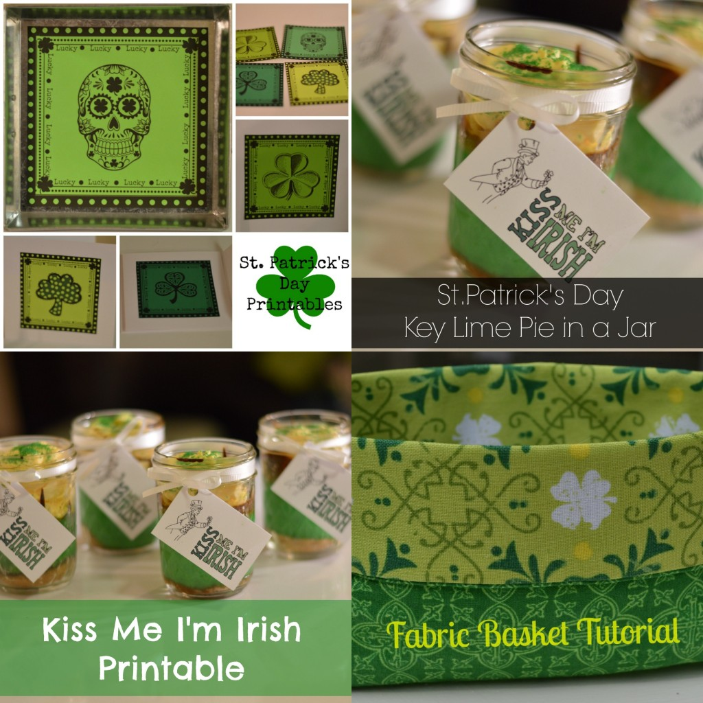 St.Patrick's Day Projects at Craft Dictator