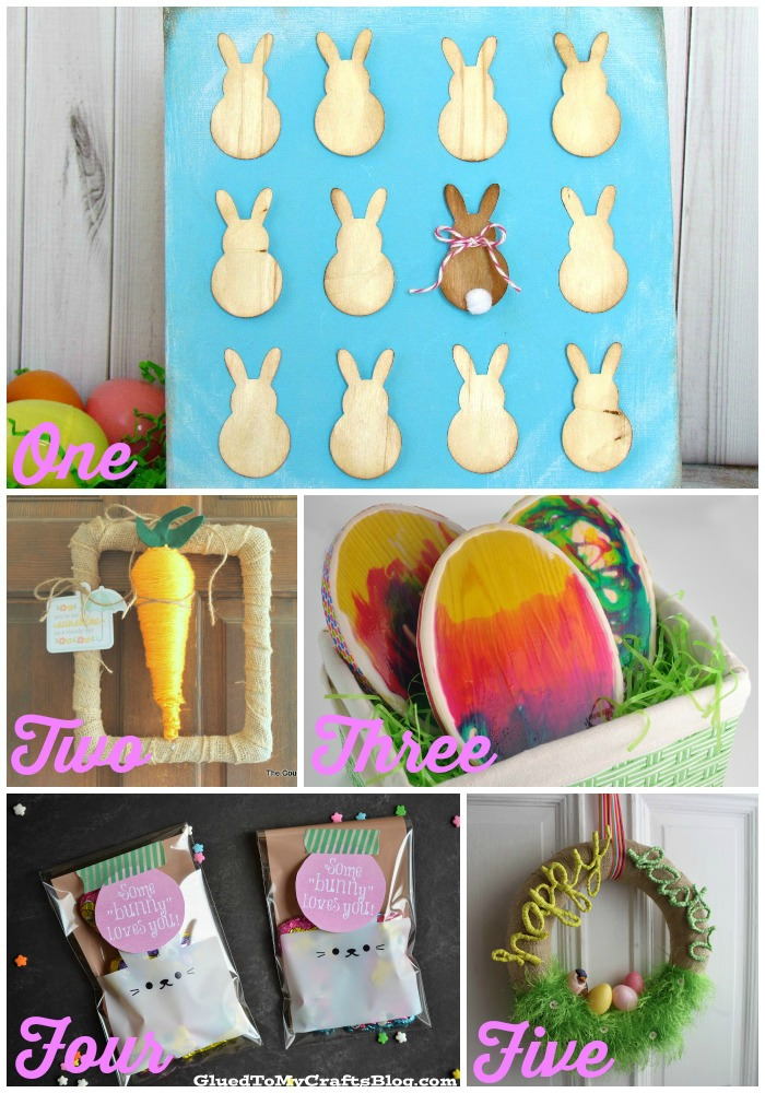 10 Last Minute Easter Decorating Ideas You Still Have Time to Make! | Craft Dictator