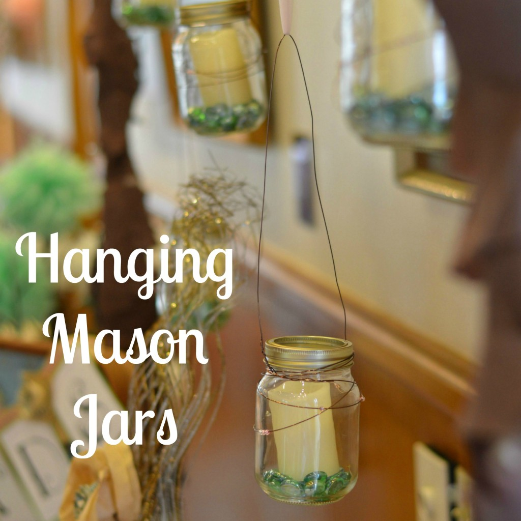 Hanging Mason Jars | Craft Dictato