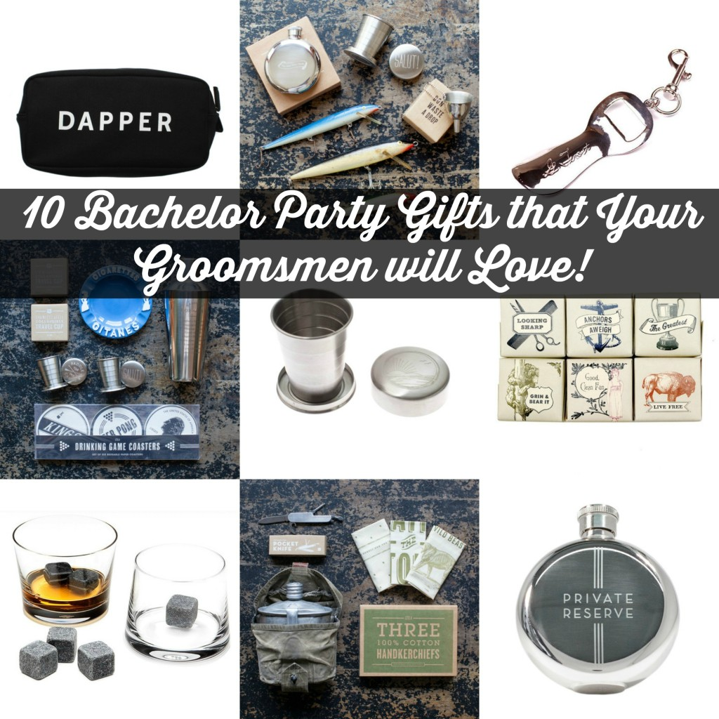 10 Bachelor Party Gifts that Your Groomsmen Will Love | Craft Dictator