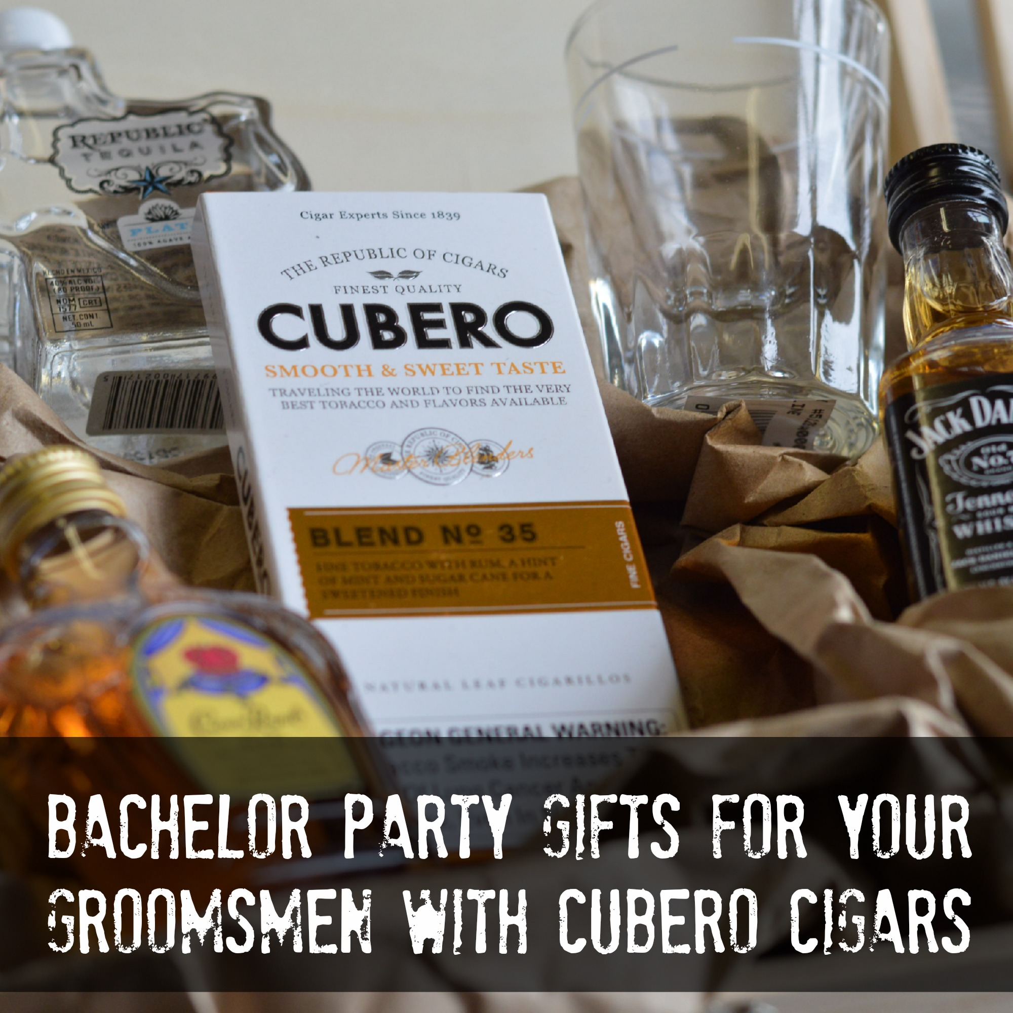 Bachelor Party Gifts for your Groomsmen with Cubero Cigars ...
