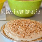 No Bake Peanut Butter Pie | Craft Dictator