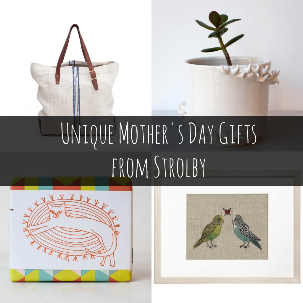Unique Mother's Day Gifts from Strolby #StrolbyMothersDay