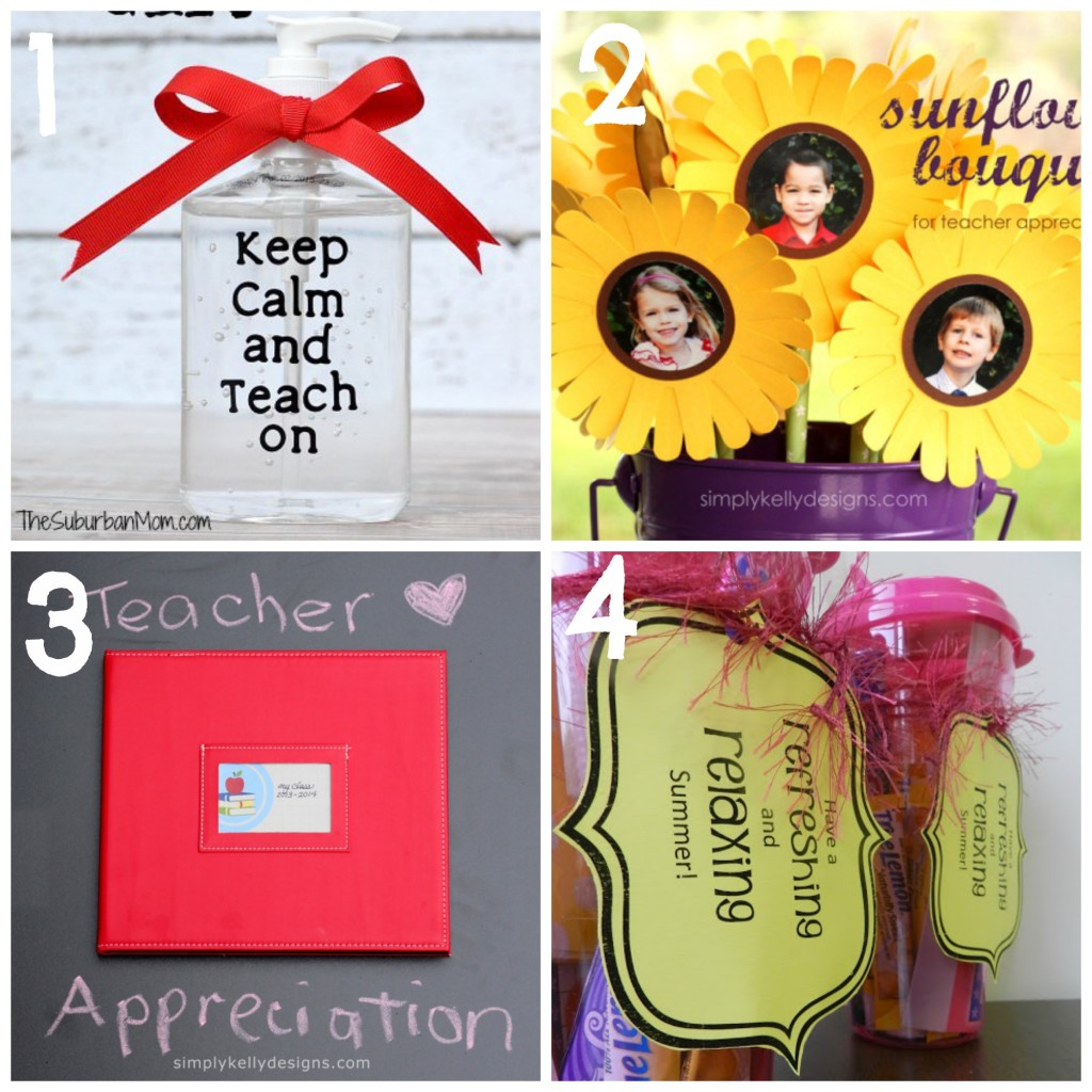 15 Gift Ideas for your Favorite Teachers!