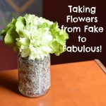 Taking Flowers from Fake to Fabulous | Craft Dictator