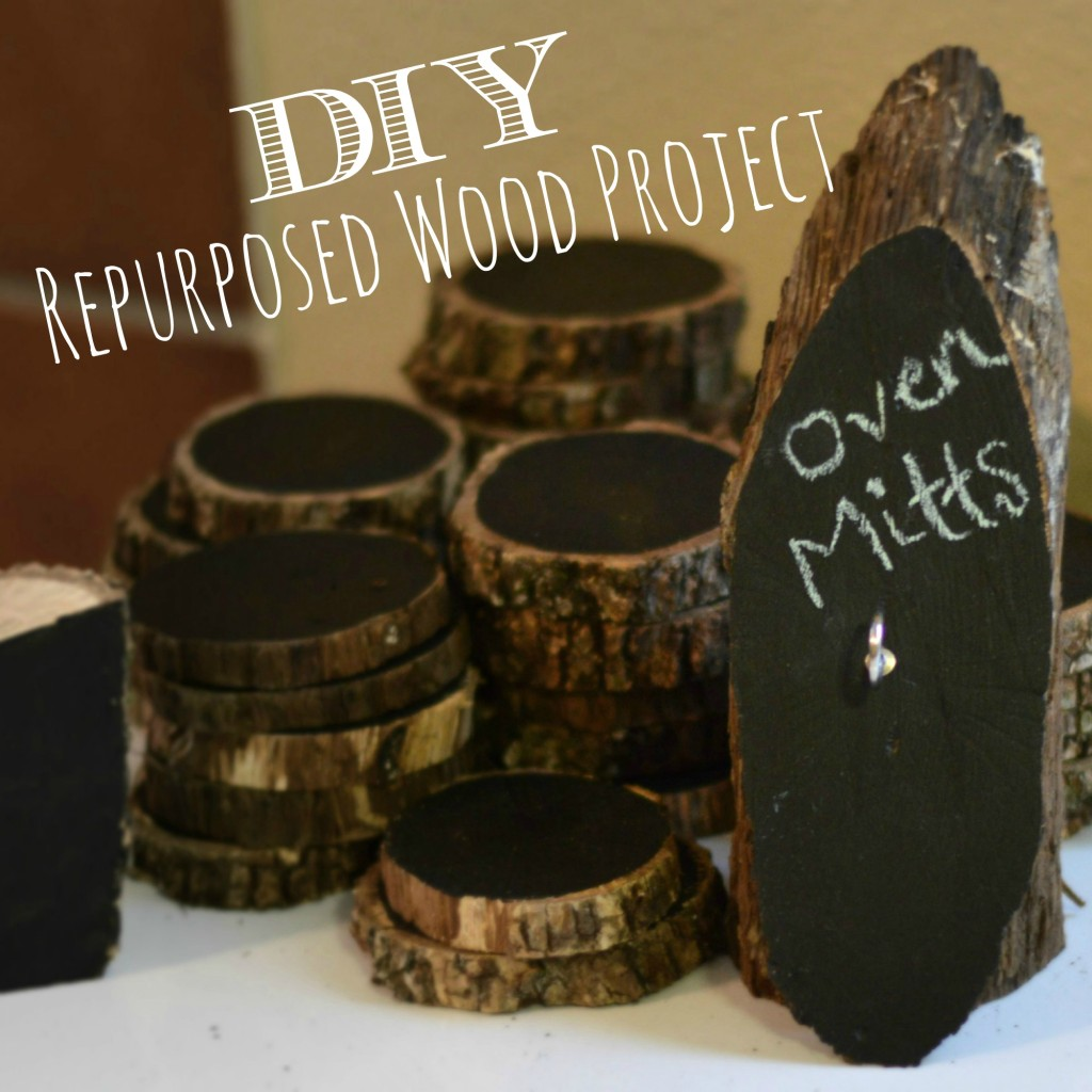 DIY Repurposed Wood Project