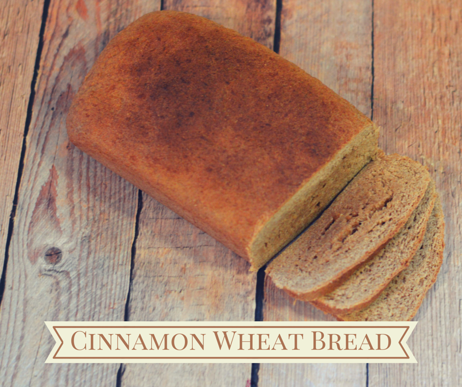 Cinnamon Wheat Bread-FB