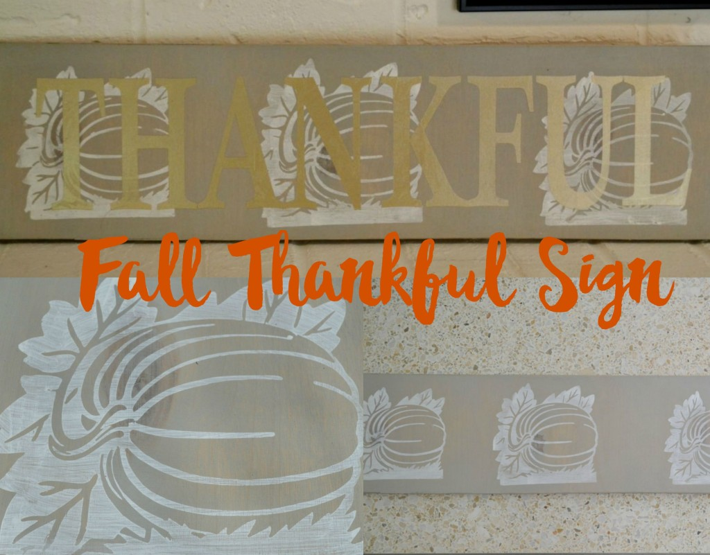 Fall Thankful Sign